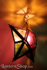 5-point rainbow star Lantern