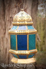 Golden octagon lantern