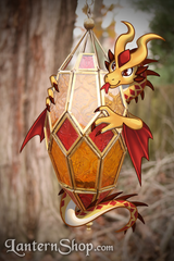 Dragon Egg - Citrine