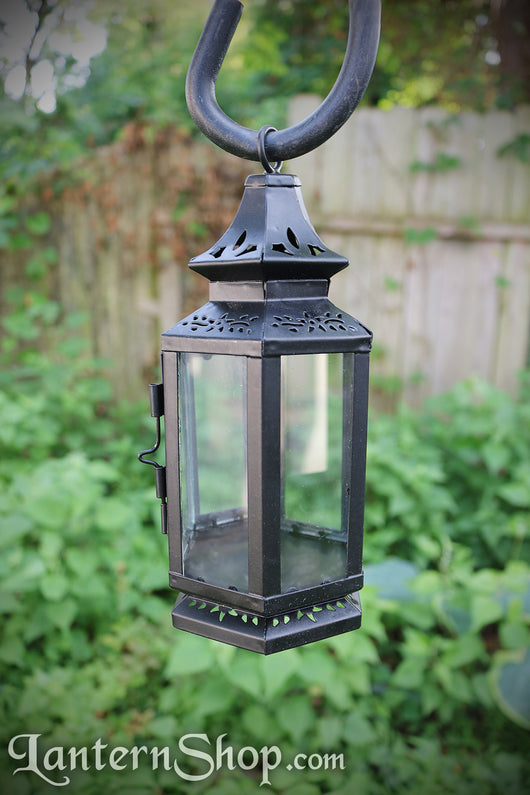 Clear pinched-dome lantern