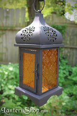 Orange daisy lantern