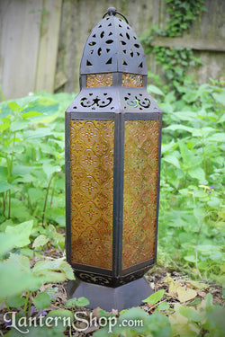 Orange domed tower lantern
