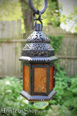 Stepped dome lantern - small