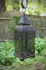 Pinched-dome birdcage lantern