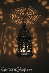 Stepped birdcage lantern