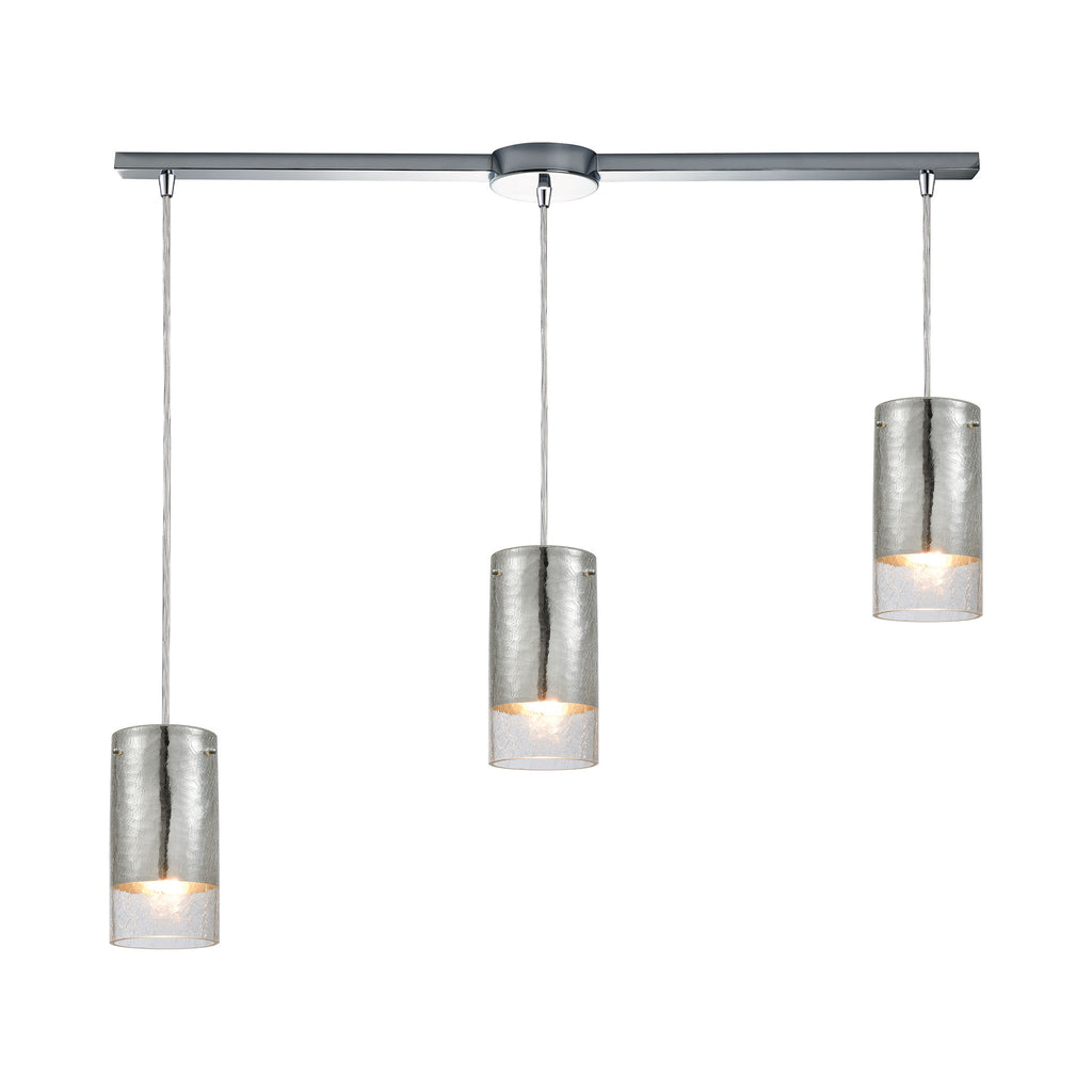 Tallula 3 Pendant Polished Chrome