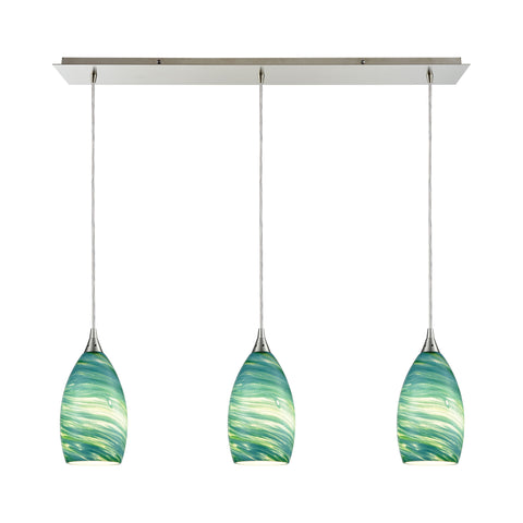 Collanino 3 Pendant Satin Nickel