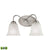 Conway 2 Light LED Vanity In Brushed Nickel