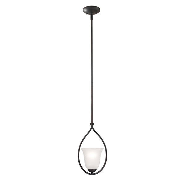 Conway 1 Light Mini Pendant In Oil Rubbed Bronze - Lumiere Lamps