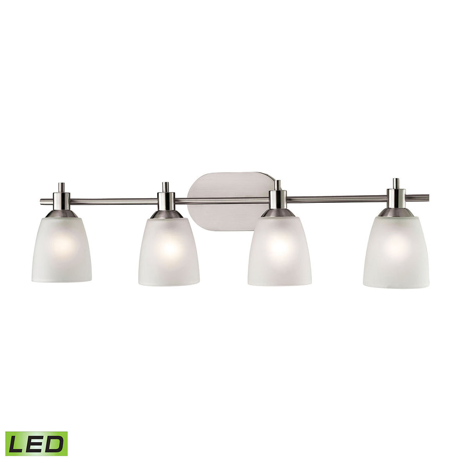 Jackson 4 Light LED Vanity In Brushed Nickel