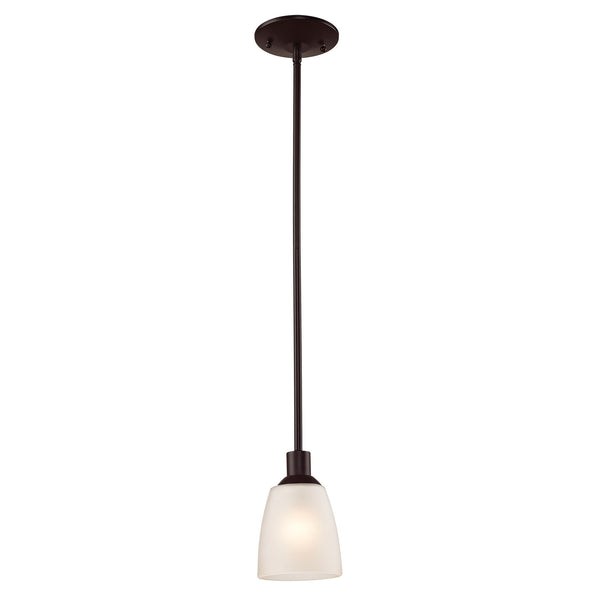 Jackson 1 Light Mini Pendant In Oil Rubbed Bronze