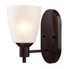 Jackson 1 Light Sconce In Oil Rubbed Bronze
