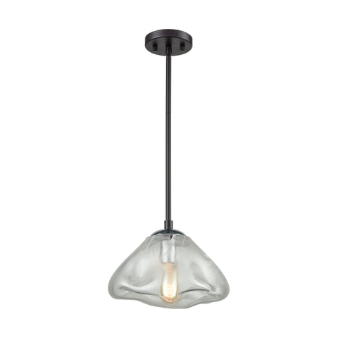 Kendal 1 Pendant Oil Rubbed Bronze/Polished Chrome