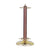 CASUAL TRADITIONS CUE STAND POL BRASS/GREEN FINISH