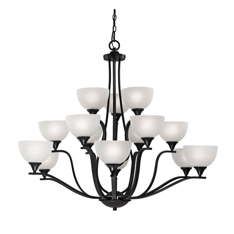 Bristol Lane 15 Light Chandelier In Oil Rubbed Bronze