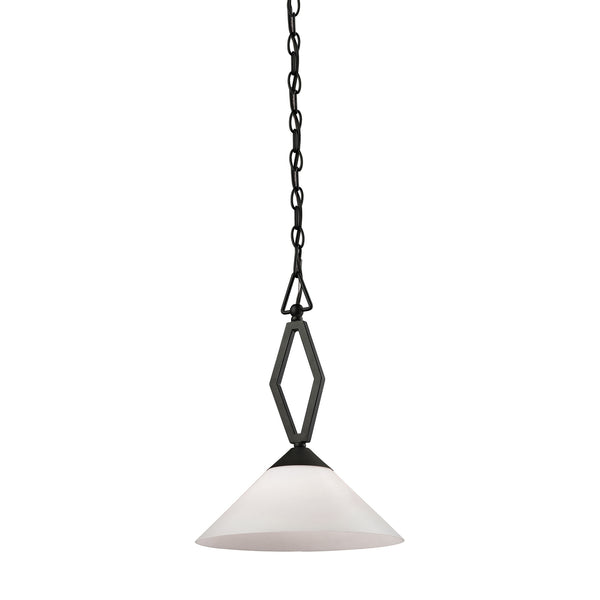 Tribecca 1 Light Pendant Large In Oil Rubbed Bronze