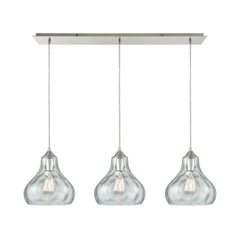 Belmont 3 Pendant Satin Nickel