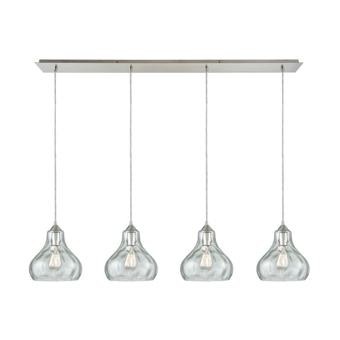 Belmont 4 Pendant Satin Nickel