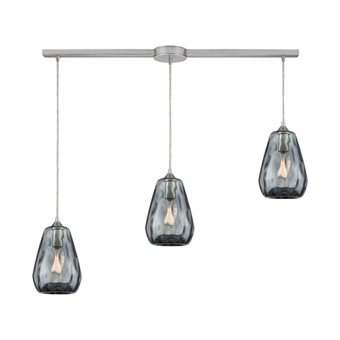 Tulare 3 Pendant Satin Nickel