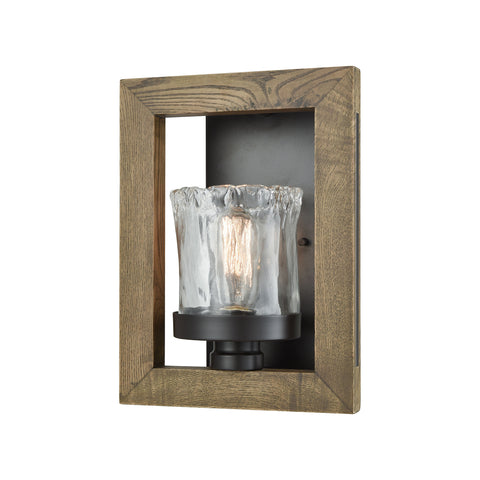Timberwood 1 Wall Sconce Oil Rubbed Bronze