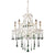 Opulence Lime Crystal Set For 5 Light Chandelier