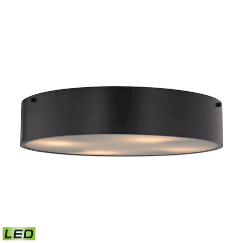 Clayton 4 Light LED Flush in Oil Rubbed Bronze