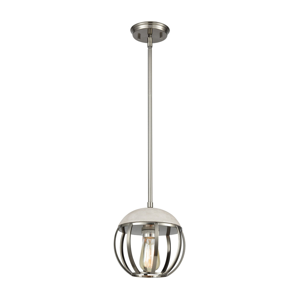 Urban Form 1 Pendant Brushed Black Nickel