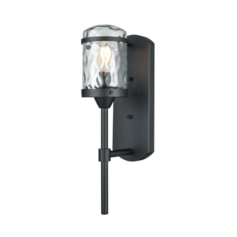 Torch 1 Outdoor Sconce Charcoal Black