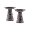 Lunetta Set of 2 Tall Garden Pillars
