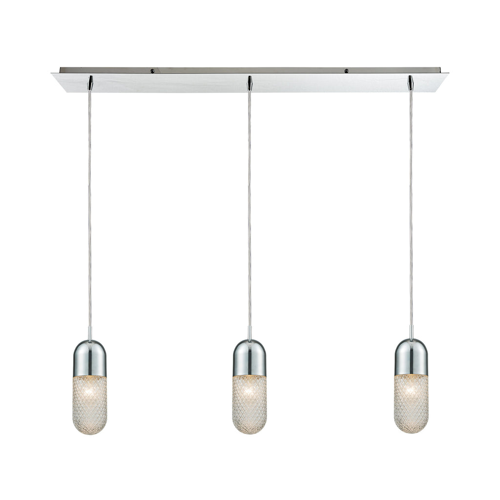 Capsula 3 Pendant Polished Chrome