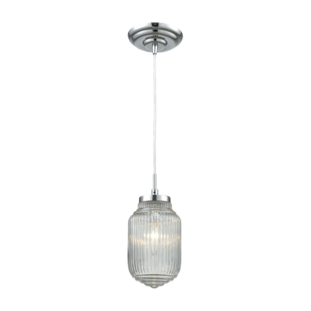 Dubois 1 Pendant Polished Chrome