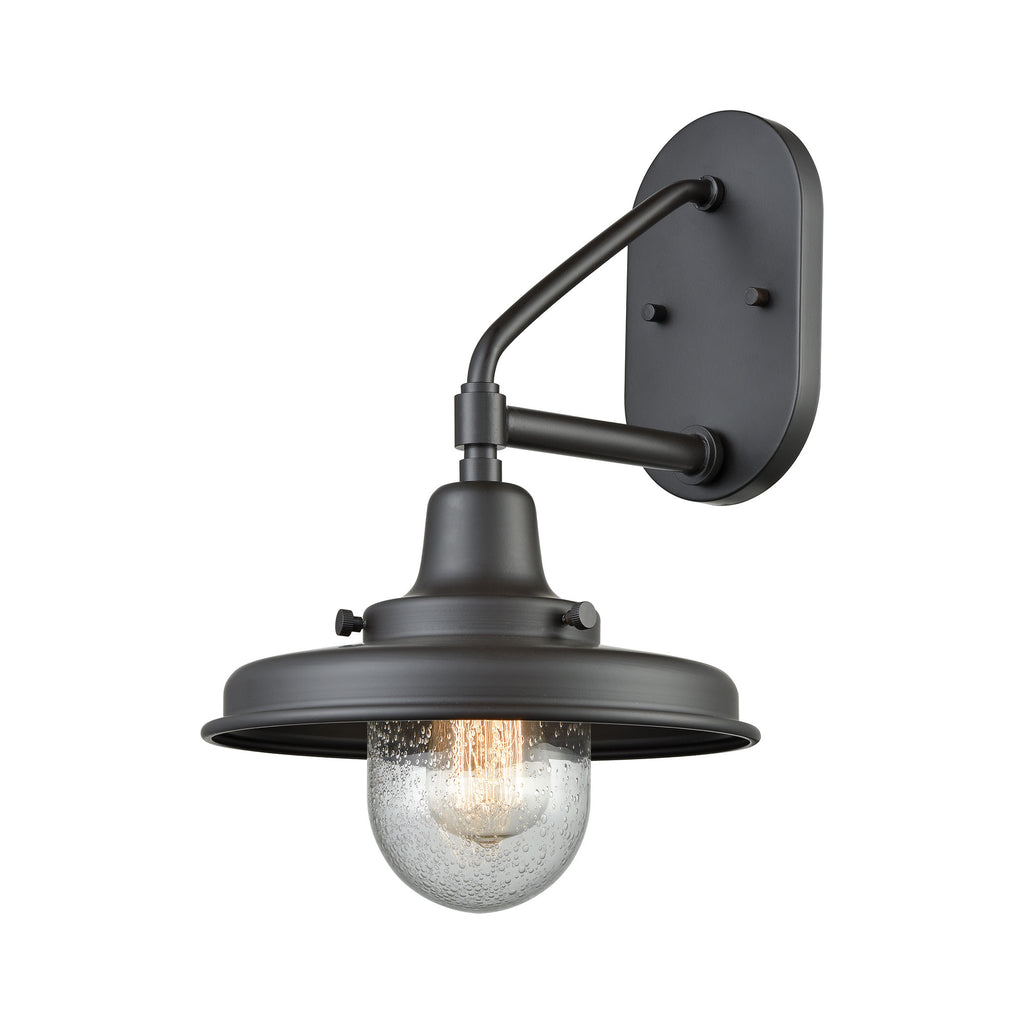 Vinton Station 1 Outdoor Sconce Oil Rubbed Bronze