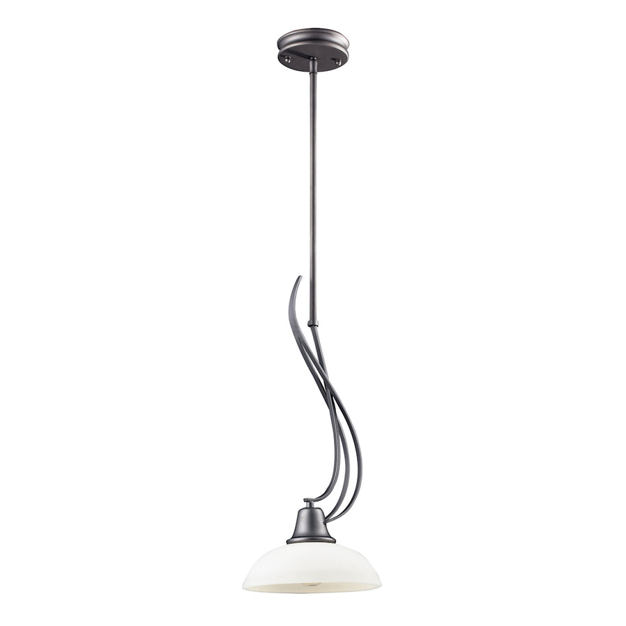 Franklin Creek 1-Light Pendant in Graphite**