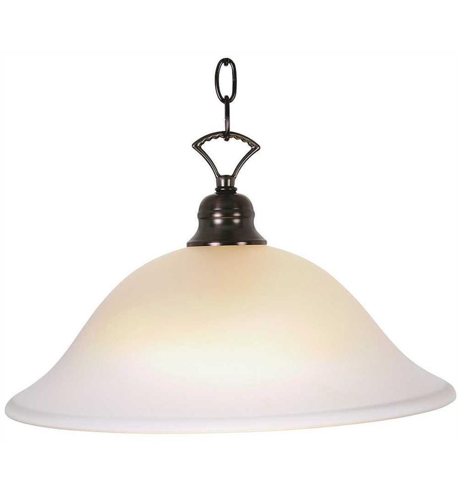 WELLINGTON™ PENDANT CEILING FIXTURE WITH ONE 40 WATT COMPACT TYPE FLUORESCENT LAMP, 16 IN.