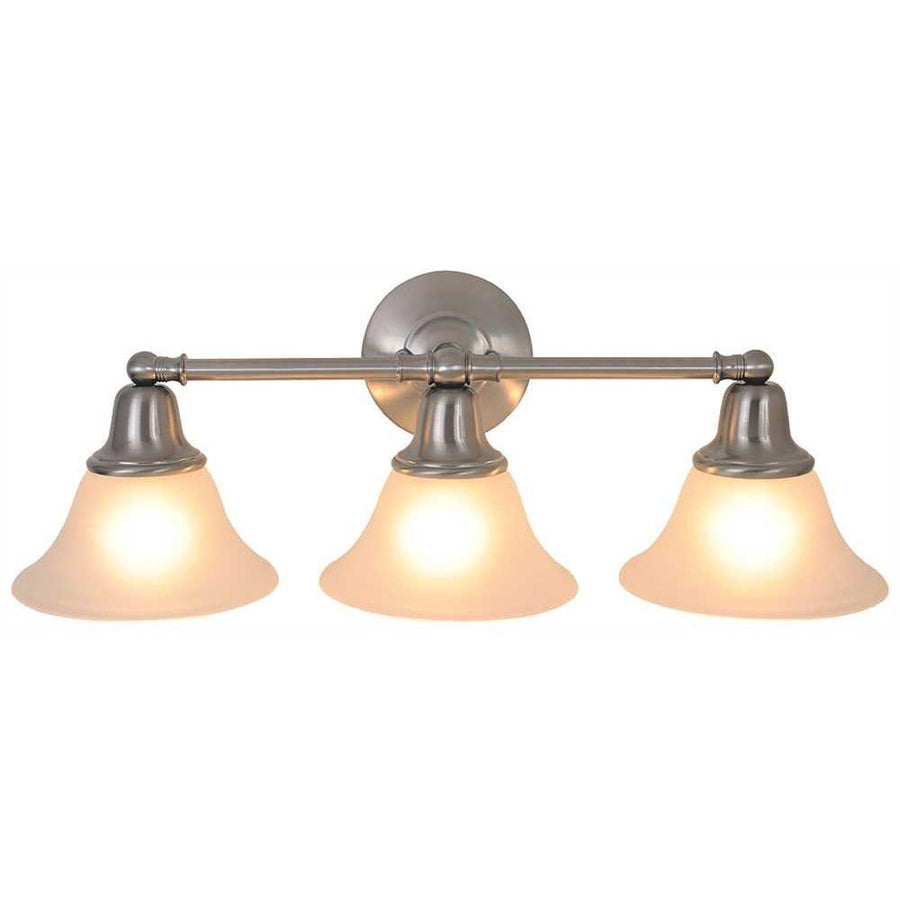 SONOMA™ VANITY FIXTURE, MAXIMUM THREE 60 WATT INCANDESCENT MEDIUM BASE BULBS