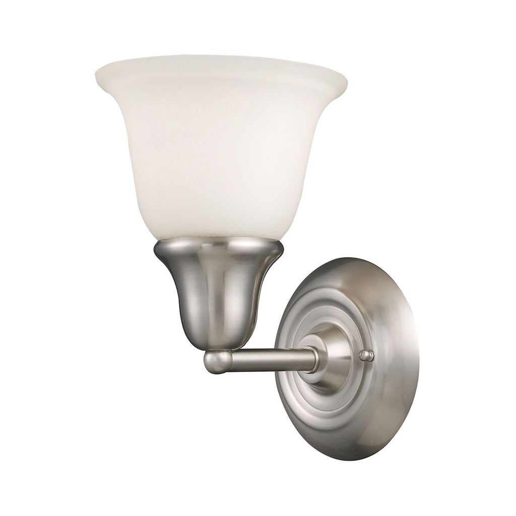 Berwick 1-Light Sconce in Brushed Nickel