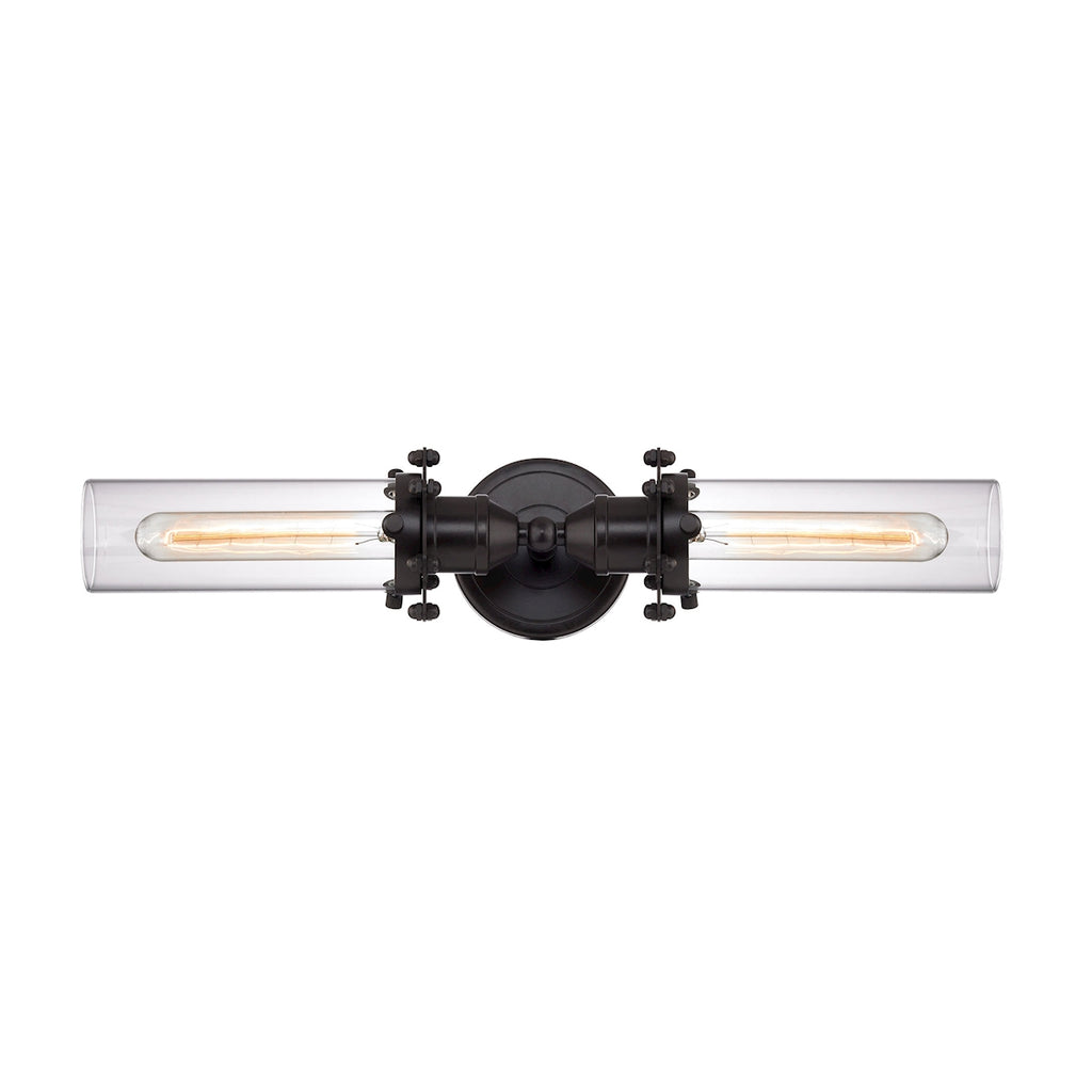 Fulton 2 Light Vanity in Oil Rubbed Bronze