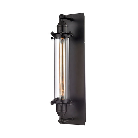 Fulton 1 Light Wall Sconce in Oil Rubbed Bronze