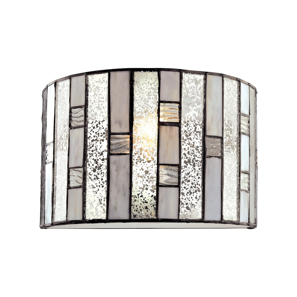 Ethan 1 Light Wall Sconce in Tiffany Bronze