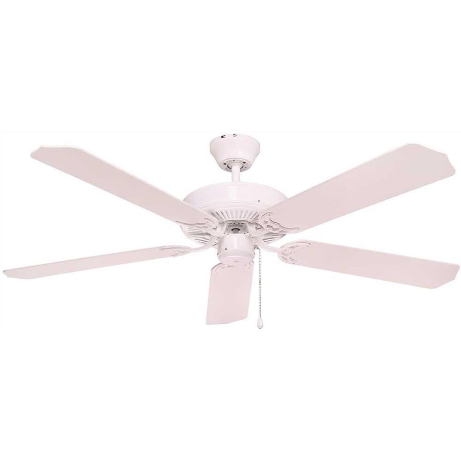 BALA® 5-BLADE CEILING FAN WITH ADAPTABLE LIGHT KIT AND REVERSIBLE BLADES, 52 IN.