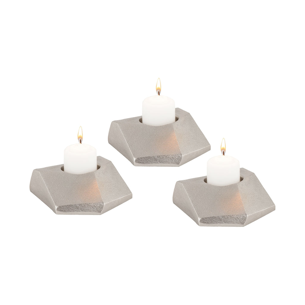 Trope Tea Light Holders - Set of 3