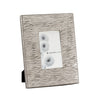 Small Aluminum Textured Photo Frames