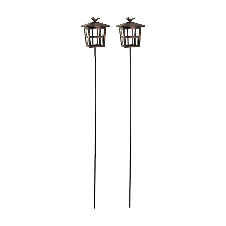 Woodlands Set of 2 Garden Stakes