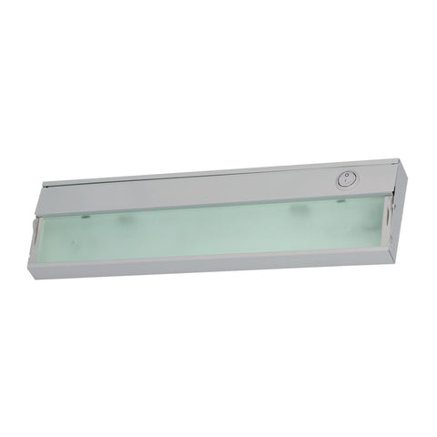 Aurora 1 Light Under Cabinet Light In Stainless Steel