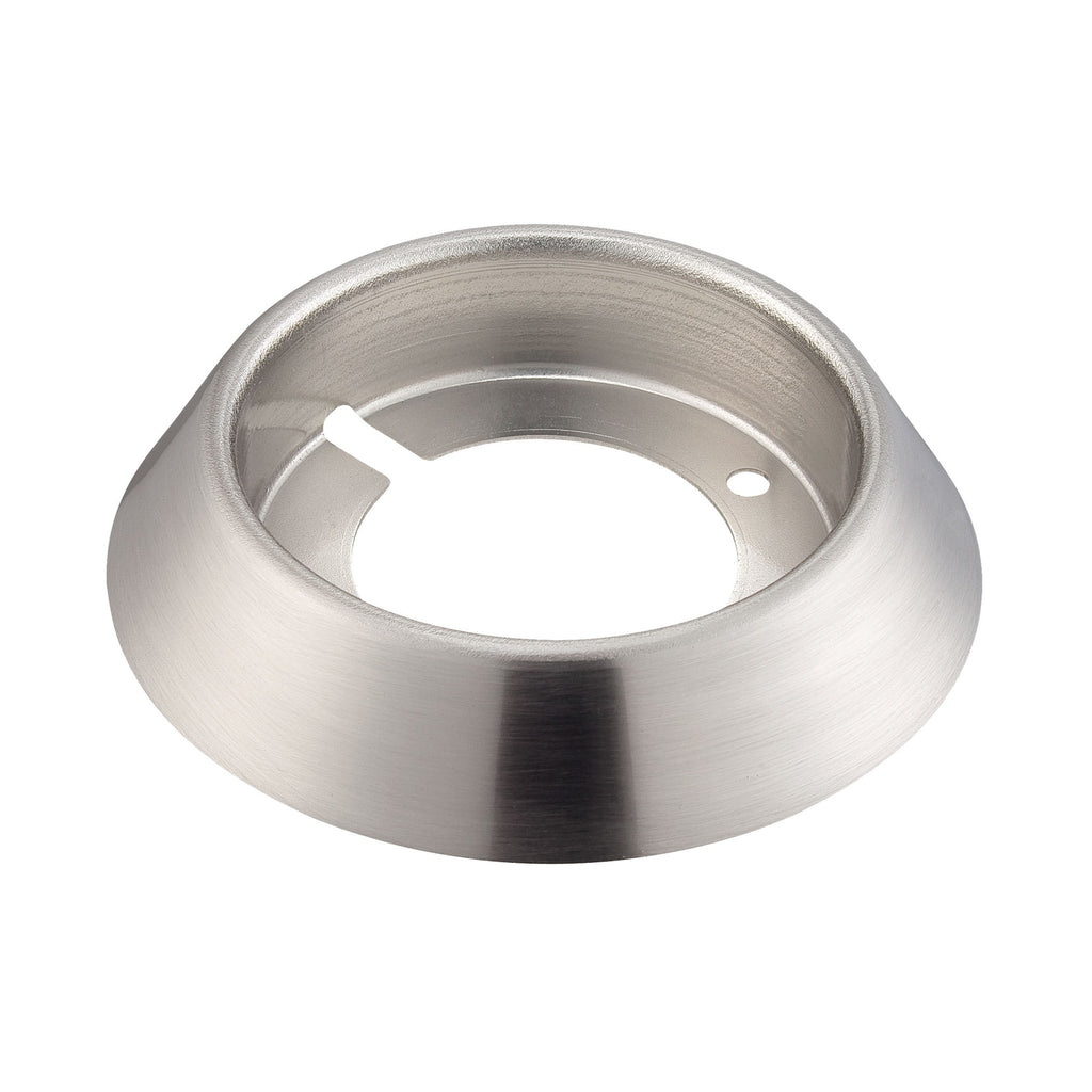 Ursa Collection Surface Mount Collar In Brushed Aluminum