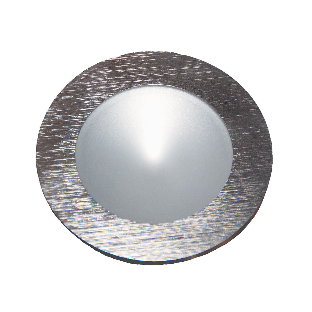 Ursa Collection 1 Light Disc Light In Brushed Aluminum