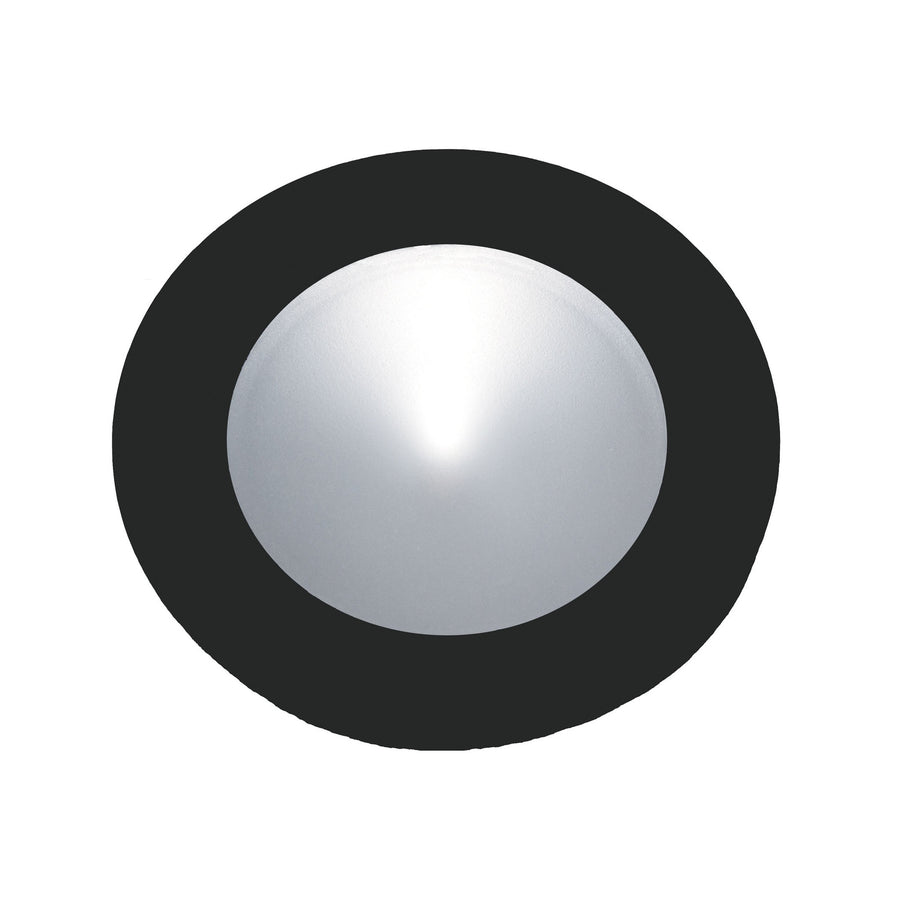 Ursa Collection 1 Light Disc Light In Black