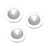 Ursa Collection 3 Light Disc Light Kit In White