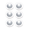 Ursa Collection 6 Light Disc Light Kit In White