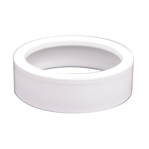 Aurora Surface Mount Collar In White